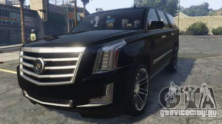 Cadillac Escalade FBI для GTA 5