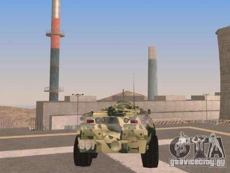 БТР-80 для GTA San Andreas вид справа