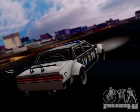 LVPD Drift Project для GTA San Andreas колёса