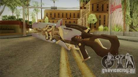 Overwatch 9 - Widowmakers Rifle v1 для GTA San Andreas второй скриншот