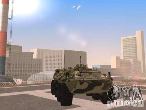 БТР-80 для GTA San Andreas вид сбоку