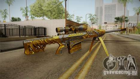 Cross Fire - M82A1 Born Beast Noble Gold для GTA San Andreas второй скриншот