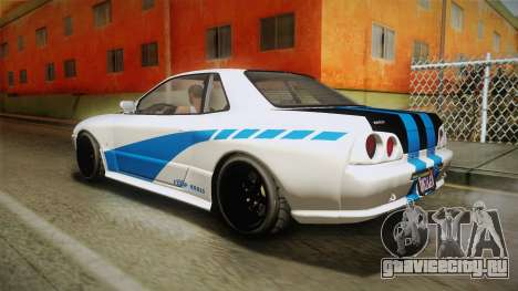 GTA 5 Annis Elegy Retro Custom v2 для GTA San Andreas вид сбоку