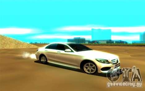 Mercedes-Benz C250 для GTA San Andreas