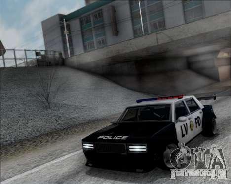 LVPD Drift Project для GTA San Andreas вид сзади