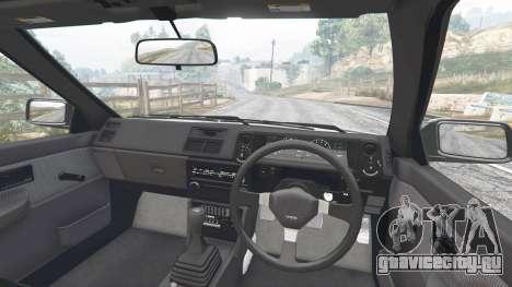 Toyota Sprinter Trueno GT-Apex (AE86) [add-on] для GTA 5 вид сзади справа
