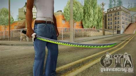 Overwatch 9 - Genjis Sword для GTA San Andreas третий скриншот