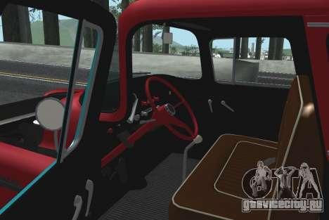 Chevrolet Apache для GTA San Andreas вид сбоку