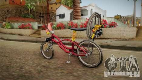 Bike Lowrider Thailook для GTA San Andreas вид слева