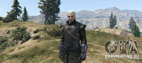 Geralt of Rivia New Moon Gear для GTA 5