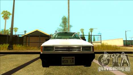 Fiat Uno Mille 1995 для GTA San Andreas вид слева