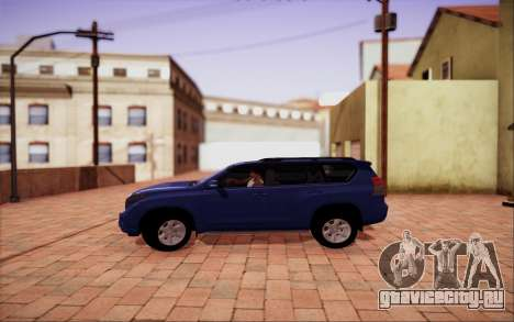 Toyota LC Prado 150 для GTA San Andreas вид слева