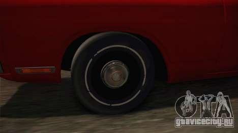 Dodge Polara 1971 Hubcaps для GTA San Andreas вид сзади