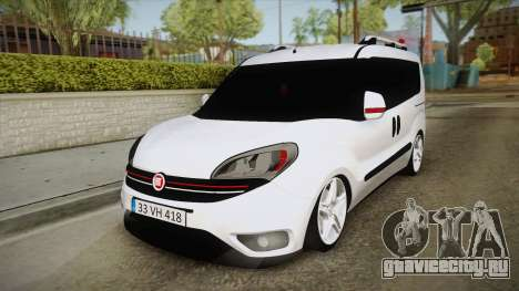 Fiat Doblo 2017 для GTA San Andreas