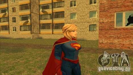 Supergirl Legendary from DC Comics Legends для GTA San Andreas