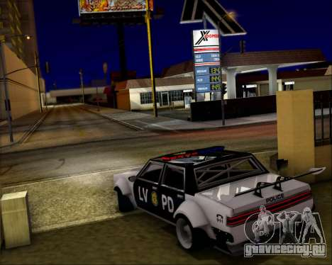LVPD Drift Project для GTA San Andreas двигатель