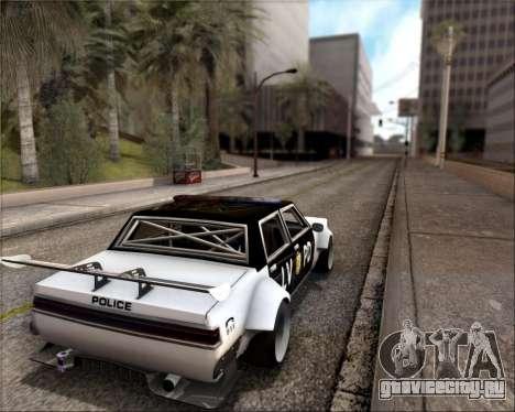 LVPD Drift Project для GTA San Andreas вид сбоку