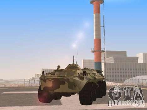 БТР-80 для GTA San Andreas вид слева