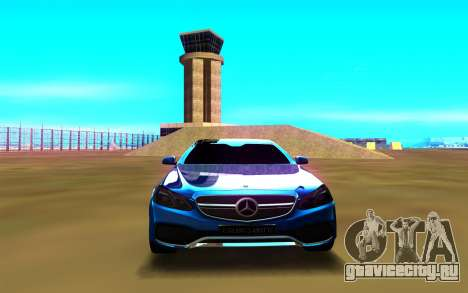Mercedes-Benz E63 W212 Coupe для GTA San Andreas вид справа