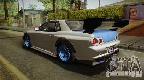GTA 5 Annis Elegy Retro Custom v2 для GTA San Andreas вид сзади слева