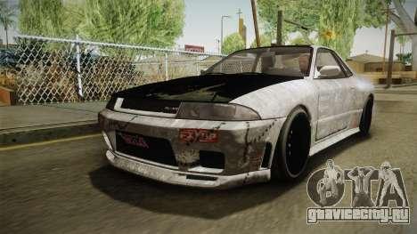 GTA 5 Annis Elegy Retro Custom v2 для GTA San Andreas вид сверху