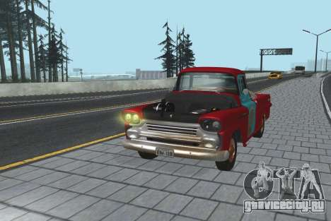 Chevrolet Apache для GTA San Andreas вид слева