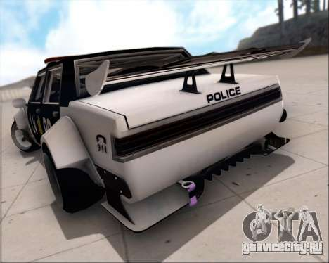 LVPD Drift Project для GTA San Andreas вид сверху