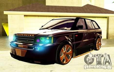 RANGE ROVER SPORTS 2008 для GTA San Andreas