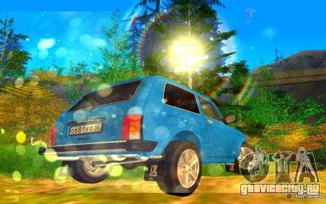 VAZ 2121 GVR для GTA San Andreas вид сзади слева