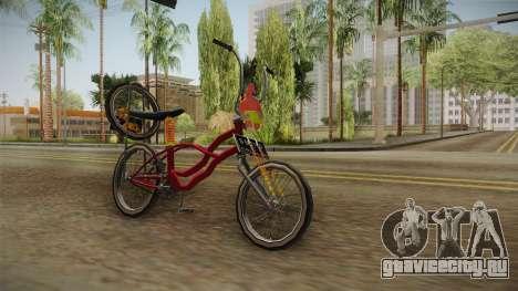 Bike Lowrider Thailook для GTA San Andreas вид справа