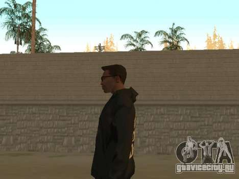 System of a Down Black Hoody v1 для GTA San Andreas четвёртый скриншот