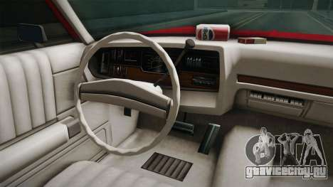 Dodge Polara 1971 Hubcaps для GTA San Andreas вид изнутри