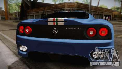 Ferrari 360 Challenge Stradale v3.2 для GTA San Andreas вид справа