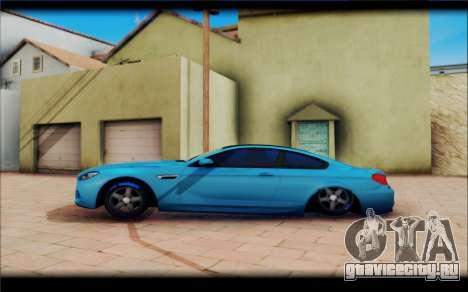 BMW M6 Stance для GTA San Andreas вид слева