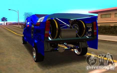 GAZ Next Rally для GTA San Andreas вид сзади слева