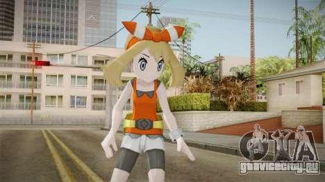 Pokémon ORAS - May для GTA San Andreas