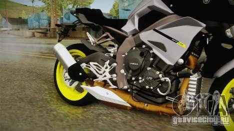 Yamaha MT-10 2017 для GTA San Andreas вид изнутри