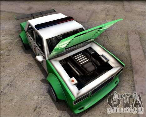 LVPD Drift Project для GTA San Andreas вид сзади слева