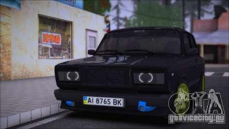 VAZ 2107 AMAG UA для GTA San Andreas
