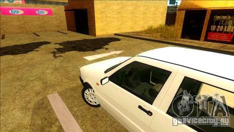 Fiat Uno Mille 1995 для GTA San Andreas вид справа