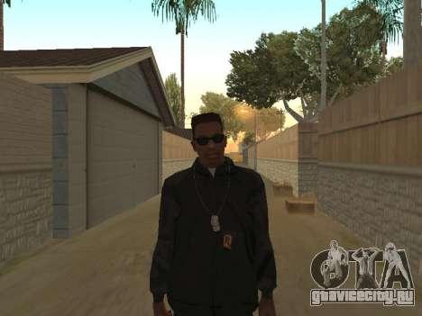 System of a Down Black Hoody v1 для GTA San Andreas второй скриншот