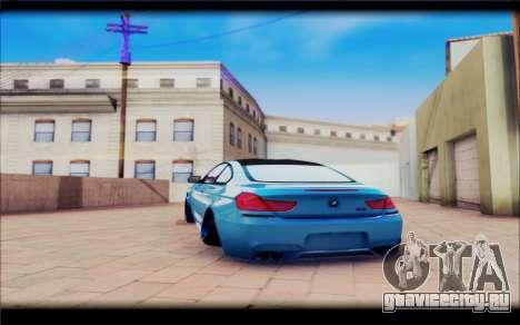 BMW M6 Stance для GTA San Andreas вид справа