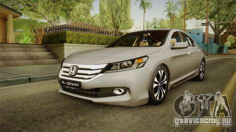 Honda Accord 2015 Sport для GTA San Andreas