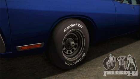 Dodge Polara 1971 для GTA San Andreas вид сзади