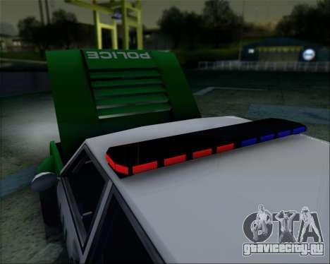 LVPD Drift Project для GTA San Andreas вид справа