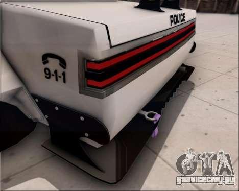 LVPD Drift Project для GTA San Andreas вид снизу