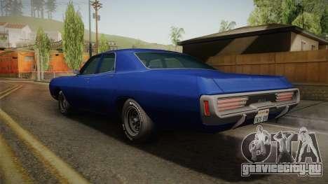 Dodge Polara 1971 для GTA San Andreas вид слева