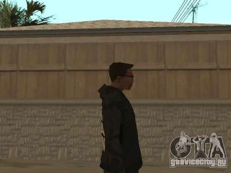 System of a Down Black Hoody v1 для GTA San Andreas третий скриншот