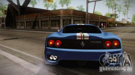 Ferrari 360 Challenge Stradale v3.2 для GTA San Andreas вид сбоку