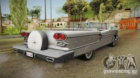 Pontiac Bonneville Hardtop 1958 HQLM для GTA San Andreas вид справа